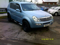 Ssangyong Rexton 2.7TD auto 2007MY RX 270 SE