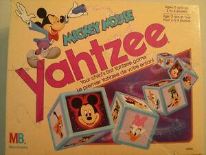1989 Mickey Mouse Yahtzee $5