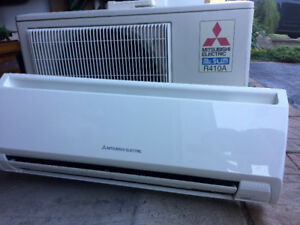 compressor excellent condition like new + AC wall unit