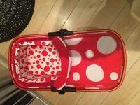 Like new cosatto giggle 2 carrycot FREE