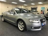 2012 AUDI A5 TFSI AUTOMATIC + LOW MILES + LIGHT GREY LEATHER + CONVERTIBLE PETR
