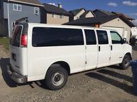 2000 Chevrolet Express 3500 extended Minivan, Van