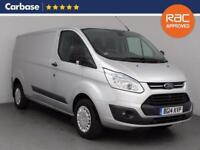 2014 FORD TRANSIT CUSTOM 2.2 TDCi 155ps Low Roof Long Wheelbase Trend Van