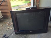 """Philips 28"""" CRT TV free to collector"""