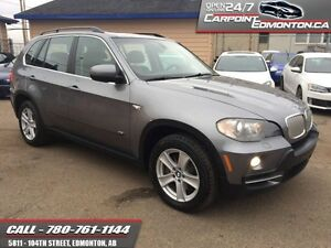 2008 BMW X5 4.8L  LOADED ..NAV..BACKUP..ONLY $13970  Excellent s
