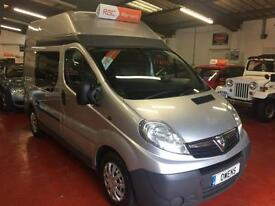 2008 (08) VAUXHALL VIVARO 2.0 2900CDTI SWB HR Manual