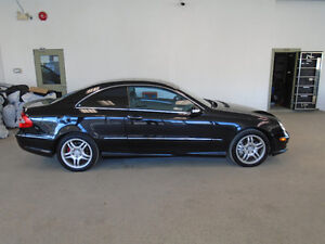 2004 MERCEDES CLK55 AMG! 362HP! BLACK ON BLACK! ONLY $9,900!!!!