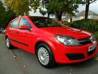 VAUXHALL ASTRA 1.4i 16v 2006 LIFE COMPLETE WITH M.O.T HPI CLEAR INC WARRANTY