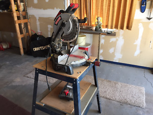 Craftsman 10 inch Miter Saw (With Stand)