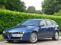 Alfa Romeo 159 Sportwagon 2008 1.9 JTDM 16v Lusso 5dr**£5000 WORTH OF INVOICES*
