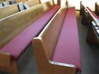 Comfy Cushions for your Pews