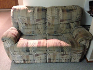 Couch, loveseat and recliner