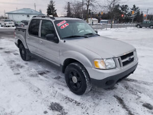 FORD SPORT TRAC 4X4  *** CERTIFIED $6995 *** 100% APPROVED