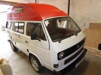 VW T25 Transporter Hi Top 4 berth camper van for sale Ref: 12032