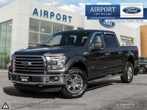 2015 Ford F-150 XLT 4X4 XTR pkg. with only 69,513 kms