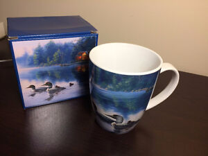 """Pine Ridge Art Inc"" Stoneware Mug / gift box - new - only $2"