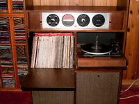 "ElectroHome ""Circa 75"" Antique Stereo. Rare & Made in Kitchener"