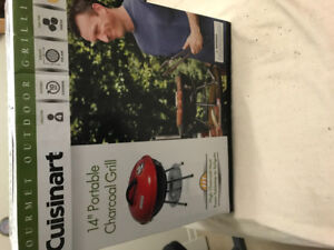 Portable charcoal  Barbeque for sale still in the box brand new