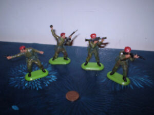 Britains Model Paratroopers Models.