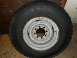 "2 LT 235/85R16 Tires On Ford F250 16"" Rims $ 175.00"