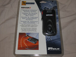 NEW!Targus Defcon1 security cable with motion activated alarm Edmonton Edmonton Area image 1