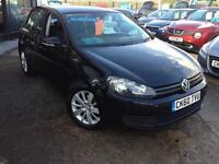 2010 (60) VW Golf 1.6TDI (105ps) BlueMotion Tech SE (Finance Available)