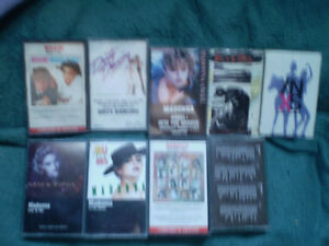 cassette 4 track bangles/beatles/madonna/inxs/wham &