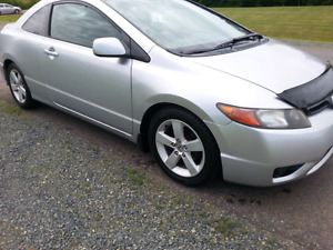 2006 HONDA CIVIC COUPE  NEW MVI
