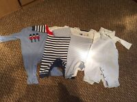 Boys 0-3 months outfits