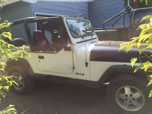 1992 Jeep YJ for sale