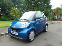 Stunning 2009 Low Mileage Smart fortwo 1.0 Pure £20 A Year Tax Must See
