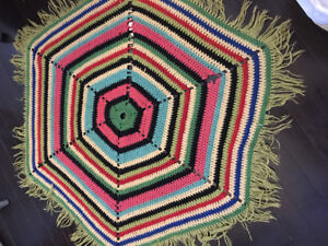 Vibrant woven piece from the 60's