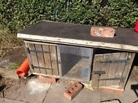 Rabbit hutch free to collector