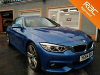 2014 BMW 4 Series 2.0 420D M SPORT 2d 181 BHP Convertible Diesel Manual