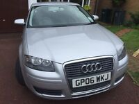 Audi A3 SE 1.6, really low genuine mileage