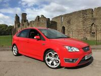 2006 56 Ford Focus 2.5 ST-3 225 Bright Red FULL LEATHER FSH