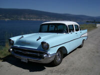 Classic '57 Chevy - NEW Paint, New Upholstery, Stock Rebuild