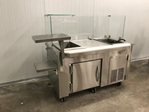 Custom Refrigerated Cold Counter - Only One Available - On Sale!