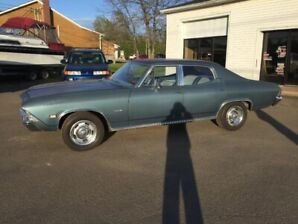 TRADES TRADES 1968 CHEVELLE 4 door 350 SBC MANUAL TRANSMISSION