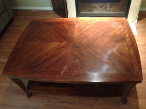 Large coffe table. Measures 36 inches by 48 inches