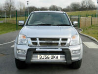 2006 56 Isuzu Rodeo 3.0TD LE auto Denver Max WITH LEATHER+SATNAV+CHROME EXT PACK