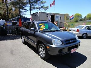 2005 Hyundai Santa Fe GL w/ABS Pkg SUV, Crossover E-TESTED & CER