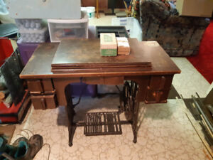Antique Reliance Sewing Machine