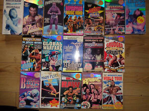 HUGE Wrestling Clearance Sale! WWE/TNA/WCW - VHS and DVD! London Ontario image 7