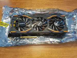 Selling Gigabyte gtx 1080 mint condition less than 1 year old