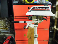 Johnson 3 HP outboard motor