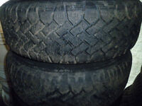 Four matching tires 205/70/14