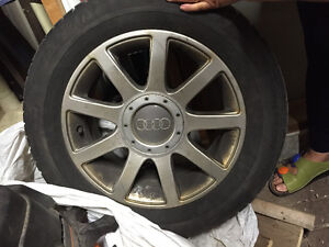 Audi Michelin Tires and Rims 225/55R16 H