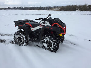 Barely used high performance ATV