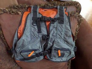 Fishing/paintbal/photography/paintball vest with many pockets